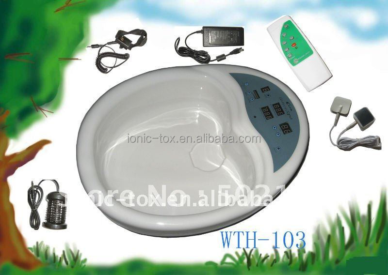 ionic foot detox/Foot bath tub /ionic health spa