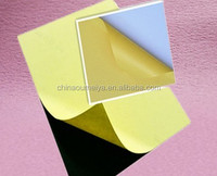 Hot melt glue adhesive PET/PVC sheet for photo album