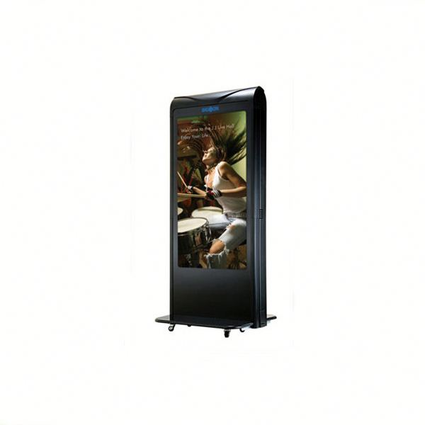 42 inch lcd electrical kiosk/touch screen kiosk totem lcd display