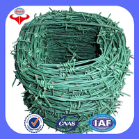 China made weight barbed wire for fence (ISO factory)