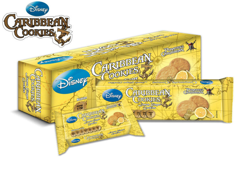 Caribbean Cookies - Lemon Ginger Flavor