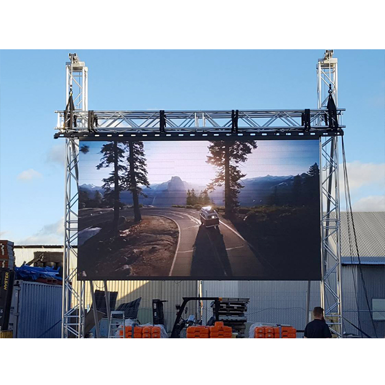 Heavy-Duty 12x6m Aluminium Led Screen Support Truss For Sale
