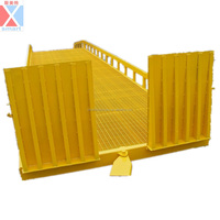 10ton Warehouse mobile container load ramp