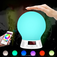 2017 New Type LED RGB Colorful Bulb Light E27 Bluetooth Smart Music Audio Speaker Lamps LED bulb