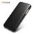 ICARER Curved Edge Luxury Genuine Leather Folio Phone Case for iPhone 7