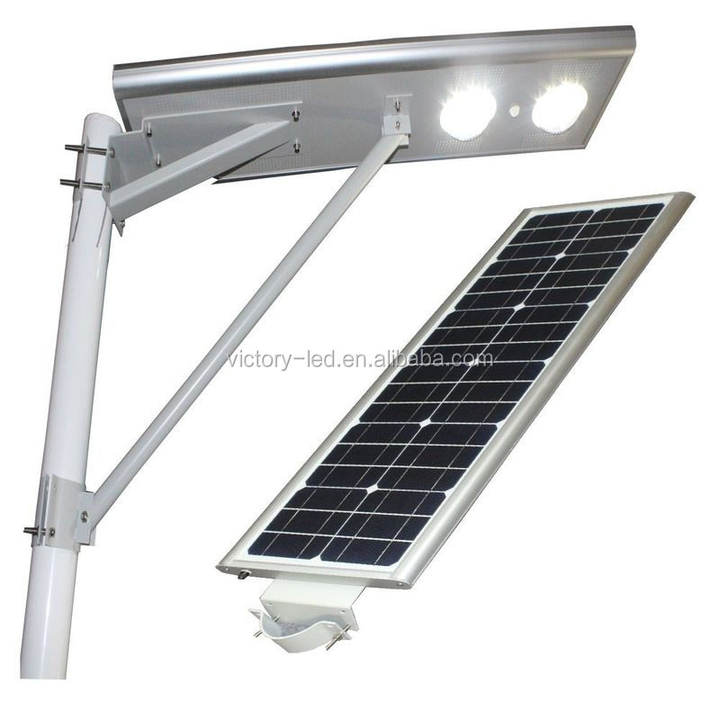 All in one best selling city 30W led street light road solar lamp outdoor solar power energy street light with motion sensor