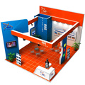 Detian offer trade fair display expo booth exhibition show system modular display stand