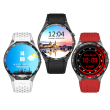 Smartwatch With Sim Card Camera Wifi Sport Gps Watch Kingwear KW88 Smart Watch Phone
