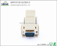 ethernet network RJ45 to vga 15P male connector