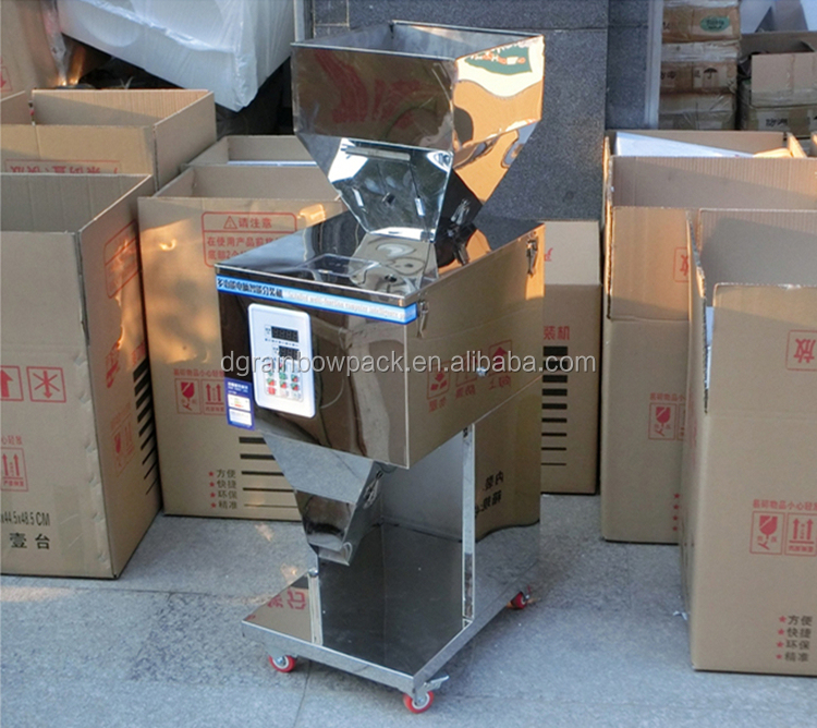 10-999g vertical stainless steel semi auto rice filling machine