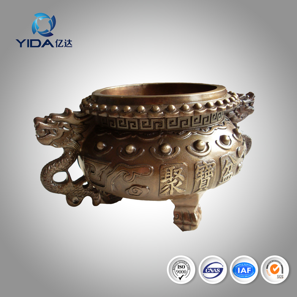 High quality brass small incense burner