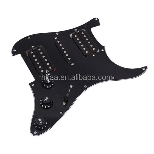 Custom Loaded Prewired Electric Guitar Pickguard Pickups Made in China