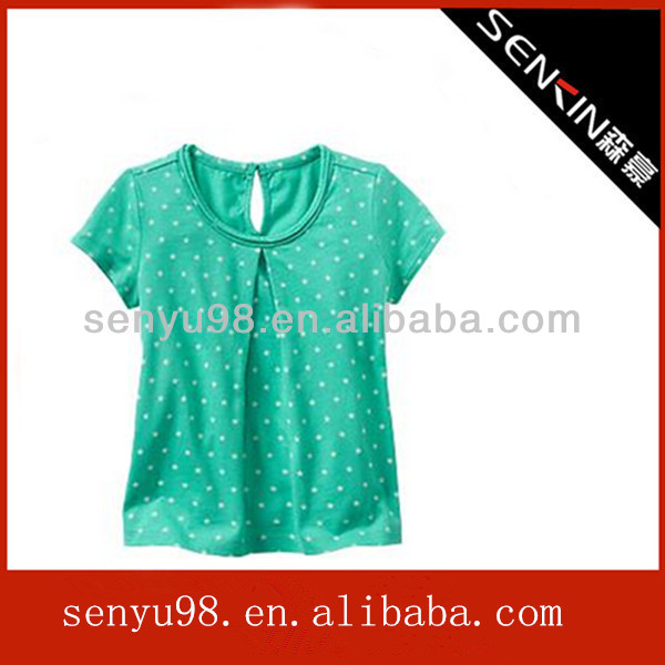 2014 new ladies fashion t shirts manufacturer from b2b china