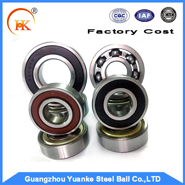 Yuanke China Supplier 6000 6200 6300 series Deep Groove Ball Bearing for ceiling fan