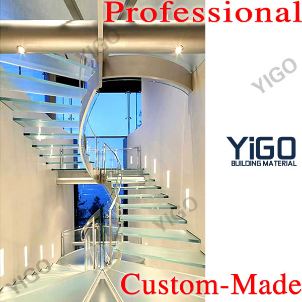 glass staircase, stainless steel stair, wood staircase design