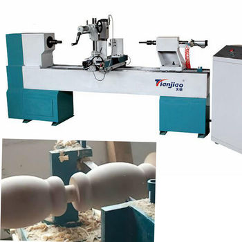 TJ-1530 CNC Automatic Wood Copy Bead Making And Baseball Bat Making Machine