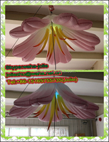 lighting inflatable wedding decoration flowe decor for stage