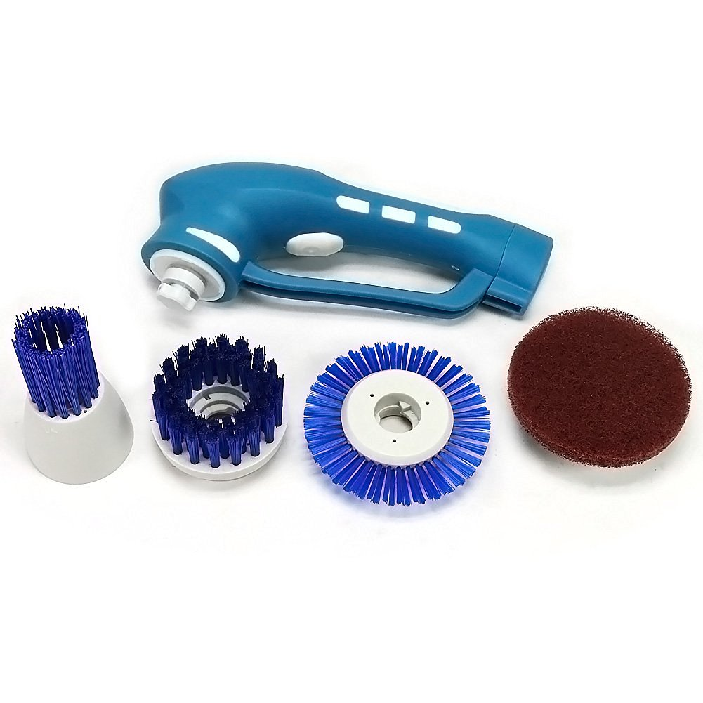 Electric handheld scrubber, power scrubber, kitchen cleaning brushes, IPX7, CE,ROHS