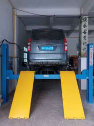 4 post car lifter for sale, 4 poll lifting equipment factory price