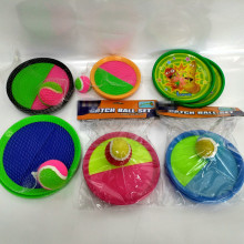 Velcro Ball and Catch Game Toss and Catch Sports Game Set for Kids and Adult with Balls& Grip Mitts