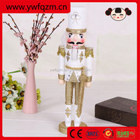 Wooden christmas nutcracker soldier