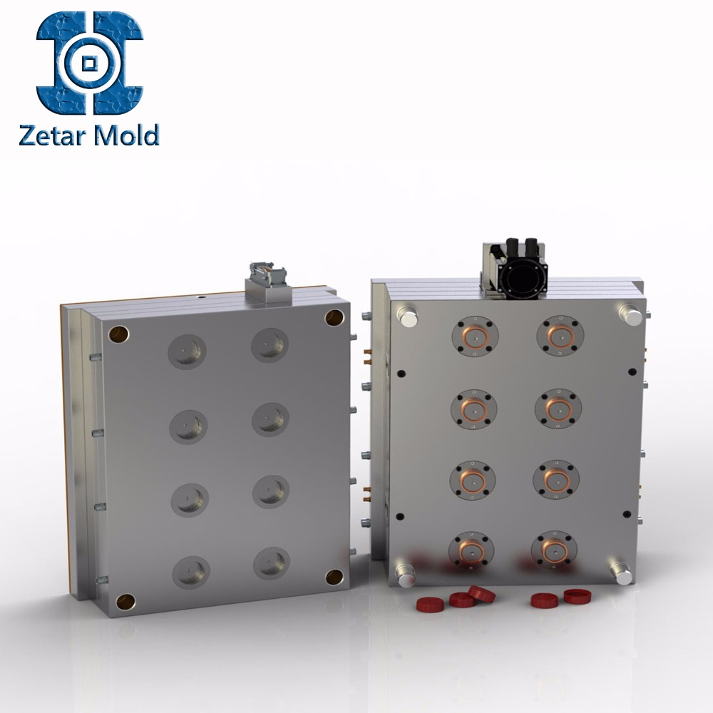 Multi-Cavity Plastic Injection Molds