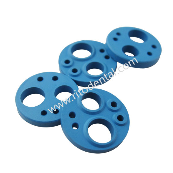 RT-406B / (10pcs) 6 Holes Dental Handpiece Gasket-Blue Color-Dental Products