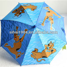 2104 hot sale brand SCOOBY-DOO children carton umbrella