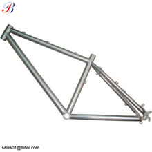 "china market hot sale grade9 titanium road bike frame 16"" 20"""