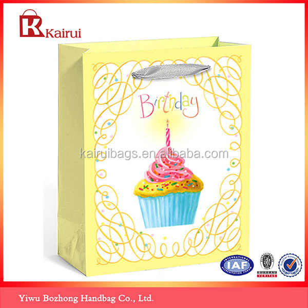 Heavy Duty personalized drawstring Kids Party Favors Goody Bags For Birthday