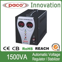 PACO AVR Relay Type Stabilizer Thermal Protect 1500VA