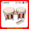 Pulse Tunable Bongos, Handmade Vintage Wooden Bongo Drums set