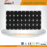 Widely use hot selling 75w pv cell solar panel