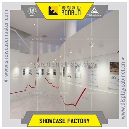 2017 Top rated Jewelry showroom history exhibition display center design