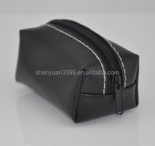 Hot Selling Fashion brand black PU Cosmetic Bags makeup Cases toiletry bag
