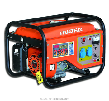 Rated 2500w max 2700w gasoline generator with 6.5HP engine for home use