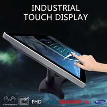 "20"" Open frame touchscreen VGA monitor with HD MI DVI input"