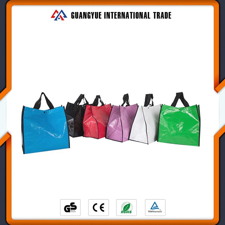 Guangyue 2017 New Arrivals High Quality PP Woven Laminated Shopping Bag