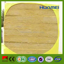 Hydrophobic Fireproof Rockwool Insulation Board with Alumimum Foil Langfang