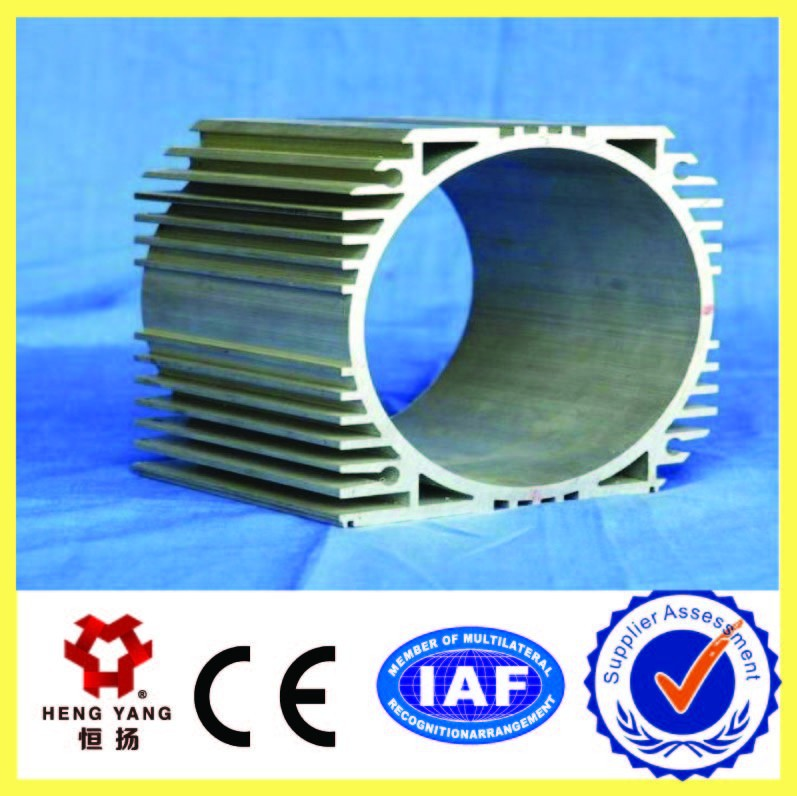 aluminium heatsink profile for motor casing