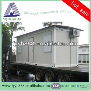 good quality foldable iso9001&ce certificate 1 bedroom mobile homes