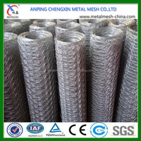 50mm Mesh Size Galvanized Hexagonal Wire Netting / Chicken Wire Mesh