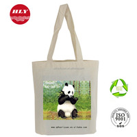 Wholesale Handled Style Reusable Cotton Material Sublimation Printing Tote Bag