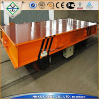 100T electric flat car for mining transportation