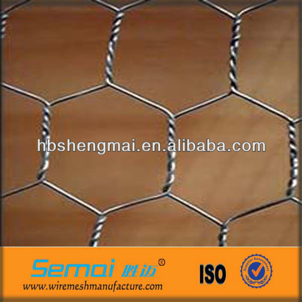 Hot dipped Galvanized hexagonal Wire netting poultry wire fencing for chicken hot sale