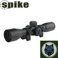 4X32mm compact rifle scope/ matte black 4x32 riflescope / riflescopes