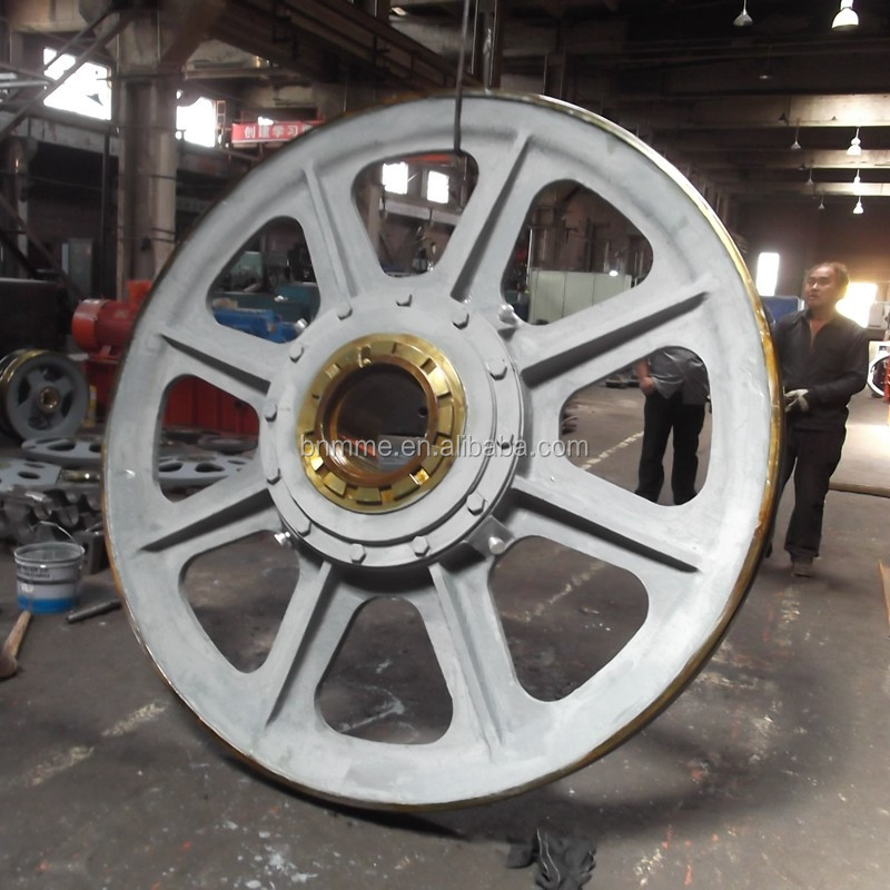 OEM cast iron elevator pulley or sheave