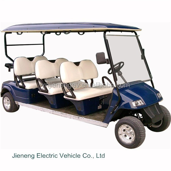 CE approved 6 seats mini used cheap electric chinese golf carts