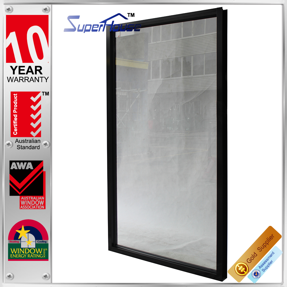 Compact and Durable AS2047 fixed panel window with double glazing