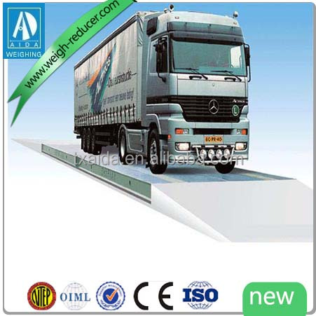 SCS electronic 60 ton truck scale